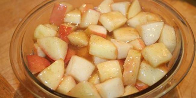 سیب پخته