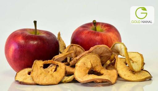 خواص سیب خشک