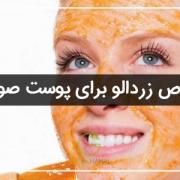 خواص زردالو برای پوست